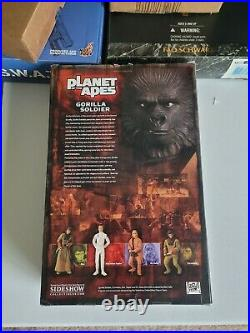 Gorilla Soldier, The Planet of the Apes 12 Sideshow Collectibles NIB Never Open