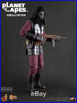Hot Toys 1/6 Planet Of The Apes Mms89 Gorilla Captain Limited Edition Figure