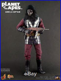 HOT TOYS, PLANET OF THE APES, GORILLA CAPTAIN MMS89 16 scale action figure