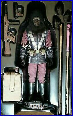Hot Toys 1/6 scale Gorilla Captain Planet of the Apes 2009 FREE shipping