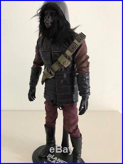 Hot Toys Gorilla Soldier Planet Of The Apes Cheapest On Ebay Figure Rare 1/6th