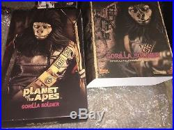 Hot Toys Planet Of The Apes Gorilla Soldier MMS88 1/6th Rare Figure