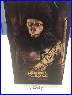 Hot Toys Planet of the Apes 1/6 Gorilla Soldier MMS88