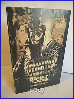 Hot Toys Planet of the Apes GENERAL URSUS 12 inch Action Figure Sideshow 2009