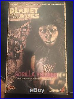 Hot toys planet of the apes Gorilla Soldier