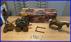 Insanely Rare Mego Planet of The Apes Horse Wagon and Catapult(Canada Exclusive)