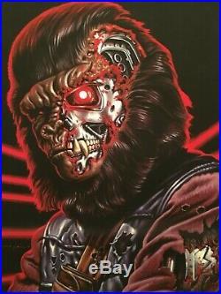 Jason Edmiston art print The Future After the Future terminator planet of apes