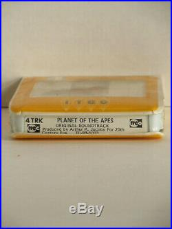 Jerry Goldsmith PLANET OF THE APES 4-Track Tape (NOT 8-Track) Mega Rare SEALED