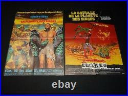 LA PLANETE DES SINGES 1/2/3/4/5 Planet of the Apes les 5 affiches cinema