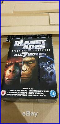 Large Job Lot Pallet of 790 x Planet of the Apes Evolution Collection Boxsets