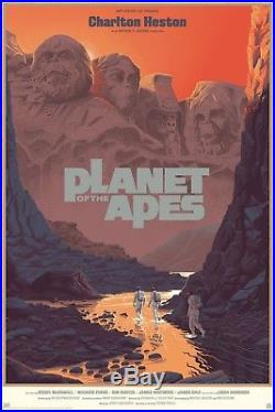 Laurent Durieux Planet Of The Apes Poster Screen Print Mondo Limited Edition