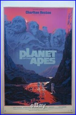 Laurent Durieux Planet Of The Apes Poster Variant Poster Art Print Mondo Heston