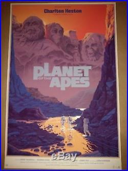Laurent Durieux Planet of the Apes REGULAR Mondo Heston Damn Dirty