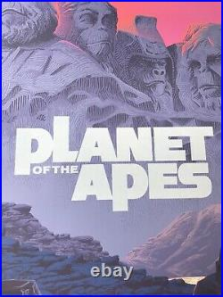 Laurent Durieux Signed Planet of the Apes Variant Mondo Print Poster Birds Jaws