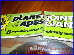 Life size Cardboard Planet of the Apes Jointed Galen 62 Vintage 1974
