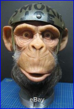 Lifesize 1/1 Silicone Prop Bust'Planet of the Apes' King Kong Sideshow Quality