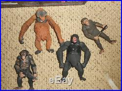 Loose neca dawn of the planet of the apes luca caessar koba maurice figure lot
