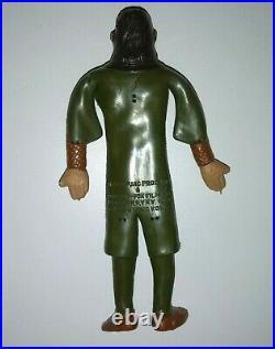 Lot 5 1973 MEGO Bend N Flex POTA Planet of the Apes Rubber Action Figure Set x 5