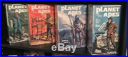 Lot Of 4 Vintage Planet Of The Apes 1973 NIB, Still Wrapped Addar Model Kits