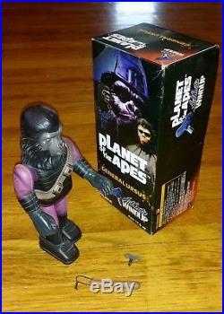 Lot of 3 Planet of the Apes Medicom Windup Figures Soldier Urko Cornelius