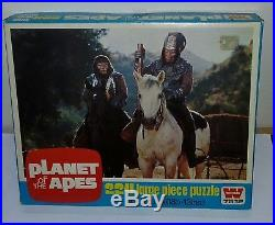 Lot of 4 1970s Planet of the Apes Whitman Puzzles from the UK