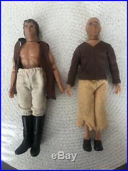 Lot of 7 Vintage Mego Planet of the Apes Action Figures Lot