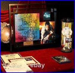 MARK WAHLBERG Signed PLANET OF THE APES Oberon Space PROP, COA, DVD, Frame, UACC