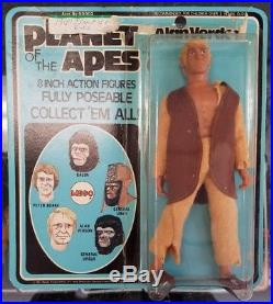 MEGO 8 1974 Planet of the Apes Alan Verdon MOC Card Original Issue Vintage POTA