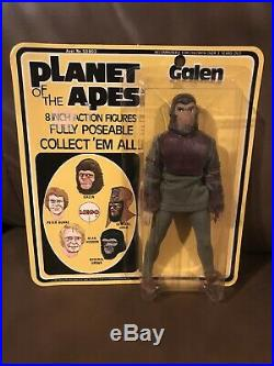 MEGO PLANET OF THE APES GALEN Mint on Card Type 1- 1970's