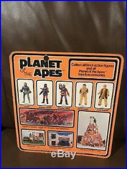 MEGO PLANET OF THE APES Peter Burke Astronaut Mint on Card Type 1- 1970's