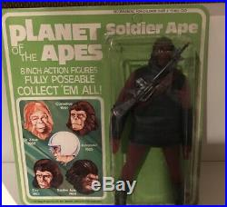 MEGO PLANET OF THE APES SOLIDER APE MOC- c. 1967 UNPUNCHED-1970's 8 Fig. BEAUTY