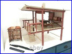 MEGO PLANET OF THE APES TREE HOUSE GIFT SET with 8 Figures 1970's