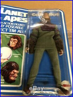 MEGO Planet of The Apes Cornelius Figure High Grade MOC crystal Clear bubble NOS
