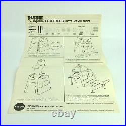 MEGO Planet of the Apes FORTRESS Playset 1974 Original Box Complete RARE