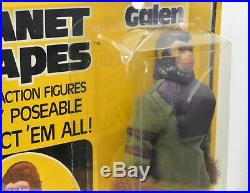 MEGO Planet of the Apes Galen action figure VINTAGE NIP with Display case
