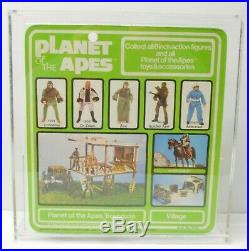 MEGO Planet of the Apes Soldier Ape action figure VINTAGE NIP with Display case