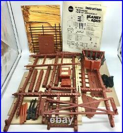 MEGO Planet of the Apes TREEHOUSE 1974 Playset Canada Parkdale Original Box RARE