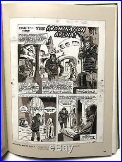 MIKE PLOOG original KEY HISTORIC art THE PLANET OF THE APES Splash COVER ART