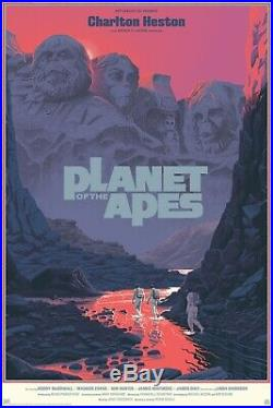 MONDO Planet of the Apes Laurent Durieux VARIANT Screen Print. PRODUCTION SAMPLE