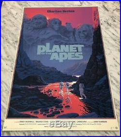 MONDO Planet of the Apes VARIANT print by Laurent Durieux movie poster S/N LE150