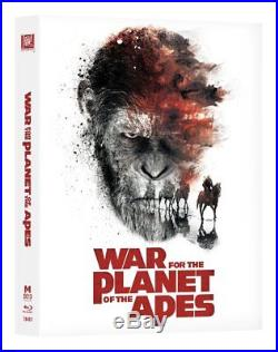 Manta Lab War for the Planet of the Apes bluray steelbook One Click Boxset