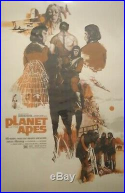 Marc Aspinall- Planet of The Apes Sold Out Artist Proof Edition #29/53 Mondo