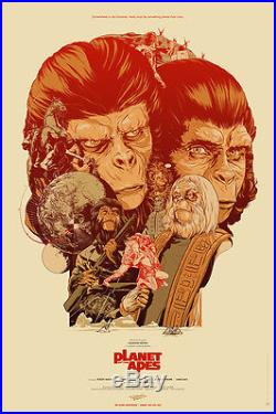 Martin Ansin Planet of the Apes (AP) Mondo Poster/Print