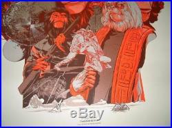 Martin Ansin Planet of the Apes Movie Poster Variant Print Mondo Art 2012