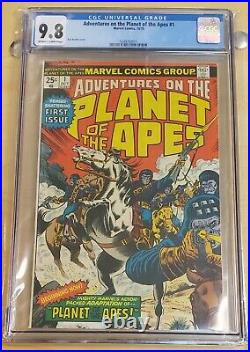 Marvel Adventures on the Planet of the Apes-Oct 1975- CGC 9.8 Rare