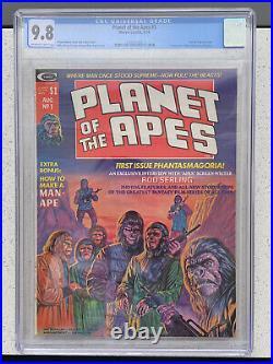 Marvel Comics 1974 Planet of the Apes #1 Magazine CGC 9.8 Movie Adaptation