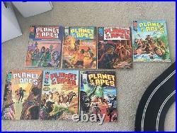 Marvel PLANET OF THE APES Magazine 1974 #1-29 Full Run NICE Books