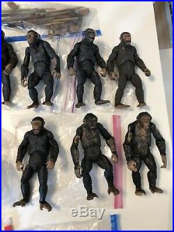 Massive Neca Planet Of The Apes Lot