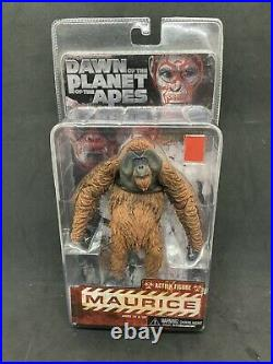 Maurice 6 action figure 2014 Neca Dawn Of The Planet Of The Apes Mint In Box