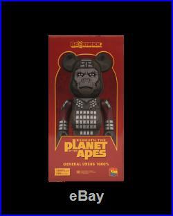 Medicom BE@RBRICK Planet of the Apes General Ursus 1000% Bearbrick Figure